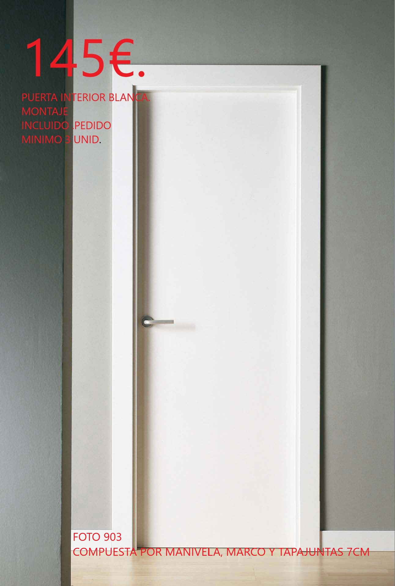 puerta barata