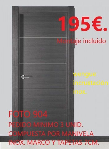 puerta oferta
